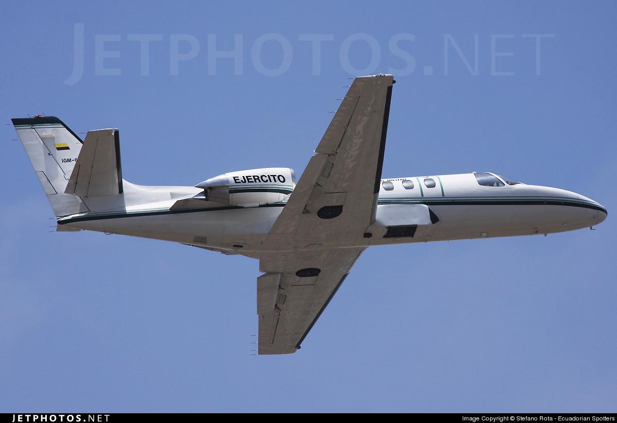 IGM-628 - Cessna 550 Citation II - Ecuador - Air Force