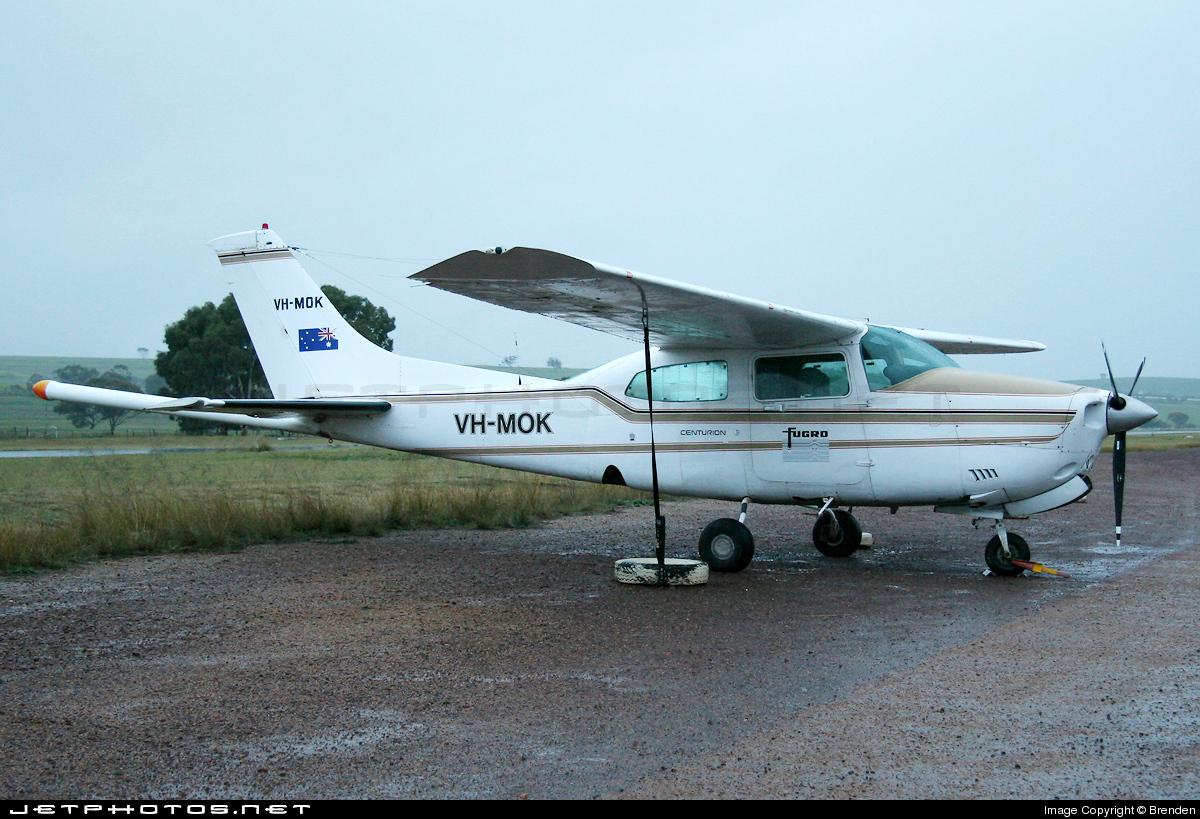 VH-MOK - Cessna T210R Turbo Centurion II - Fugro Airborne Surveys