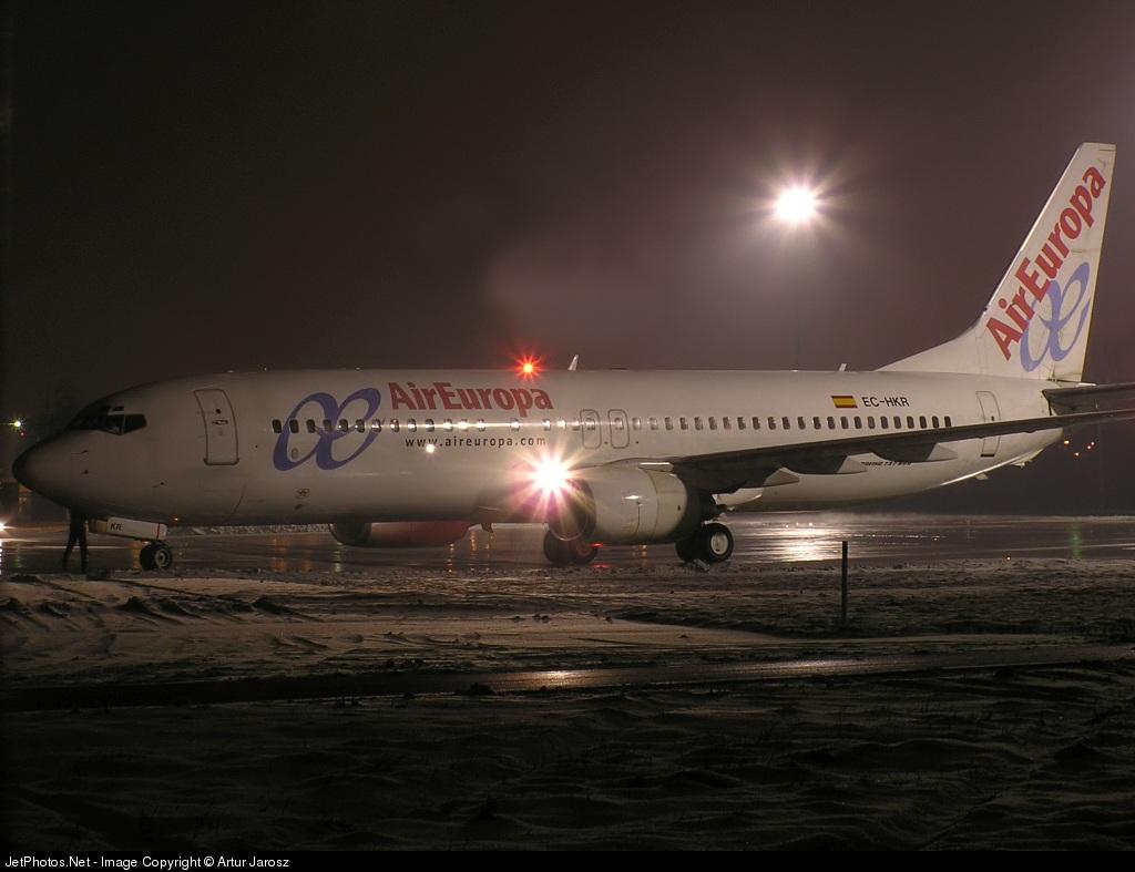 EC-HKR - Boeing 737-85P - Air Europa