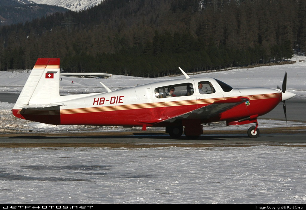 HB-DIE - Mooney M20R Ovation - Motorfluggruppe Chur