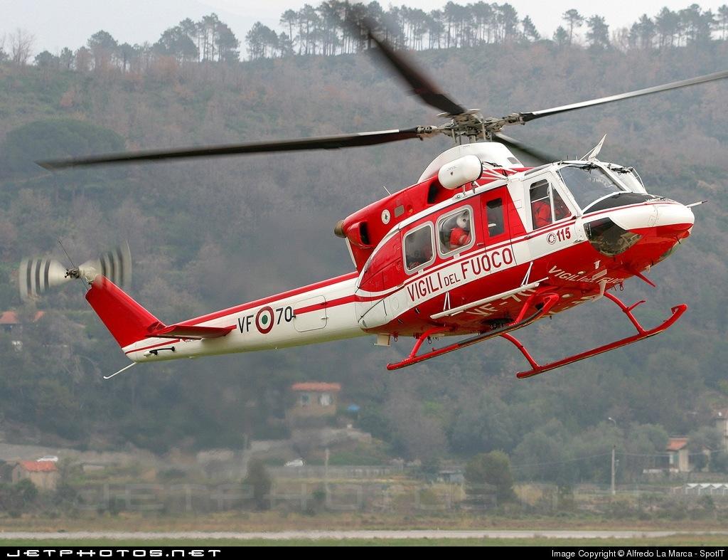 I-VFOZ - Agusta-Bell AB-412EP - Italy - Vigili del Fuoco