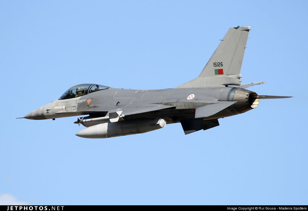 15126 - General Dynamics F-16AM Fighting Falcon - Portugal - Air Force