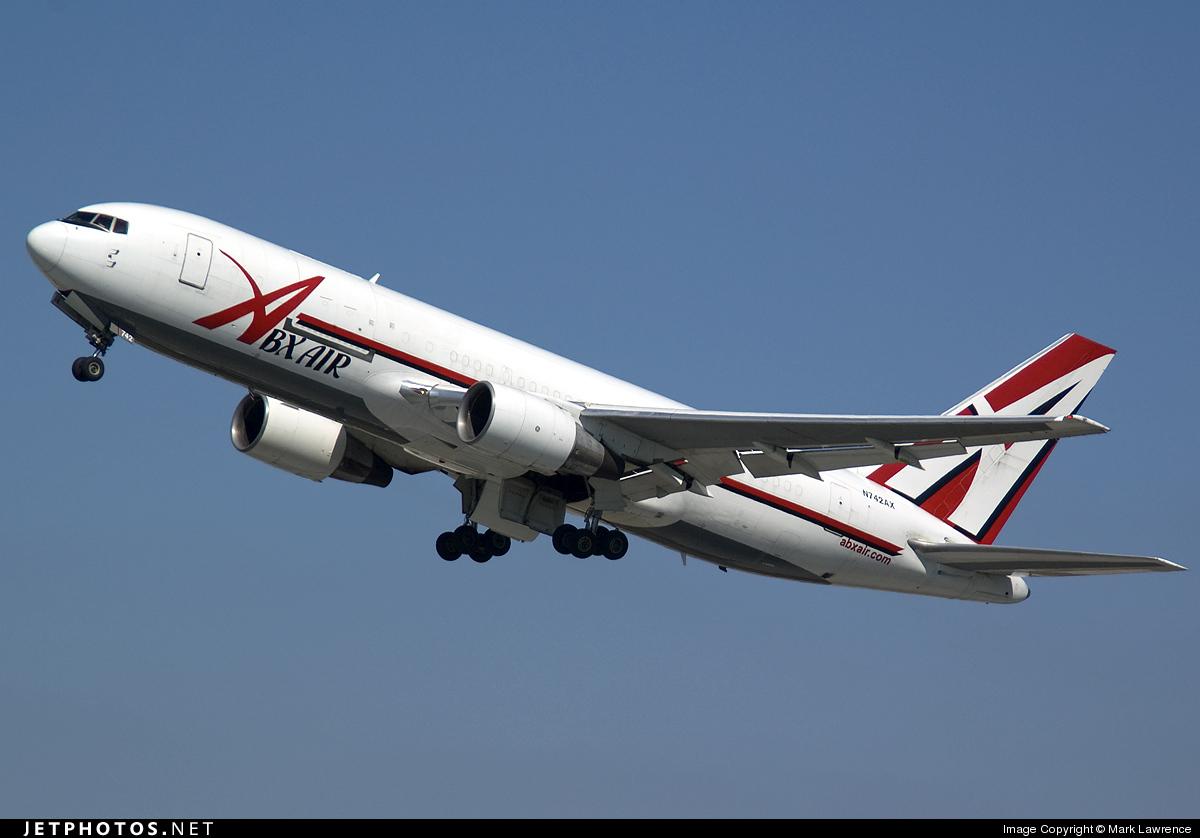 N742AX - Boeing 767-232(BDSF) - ABX Air