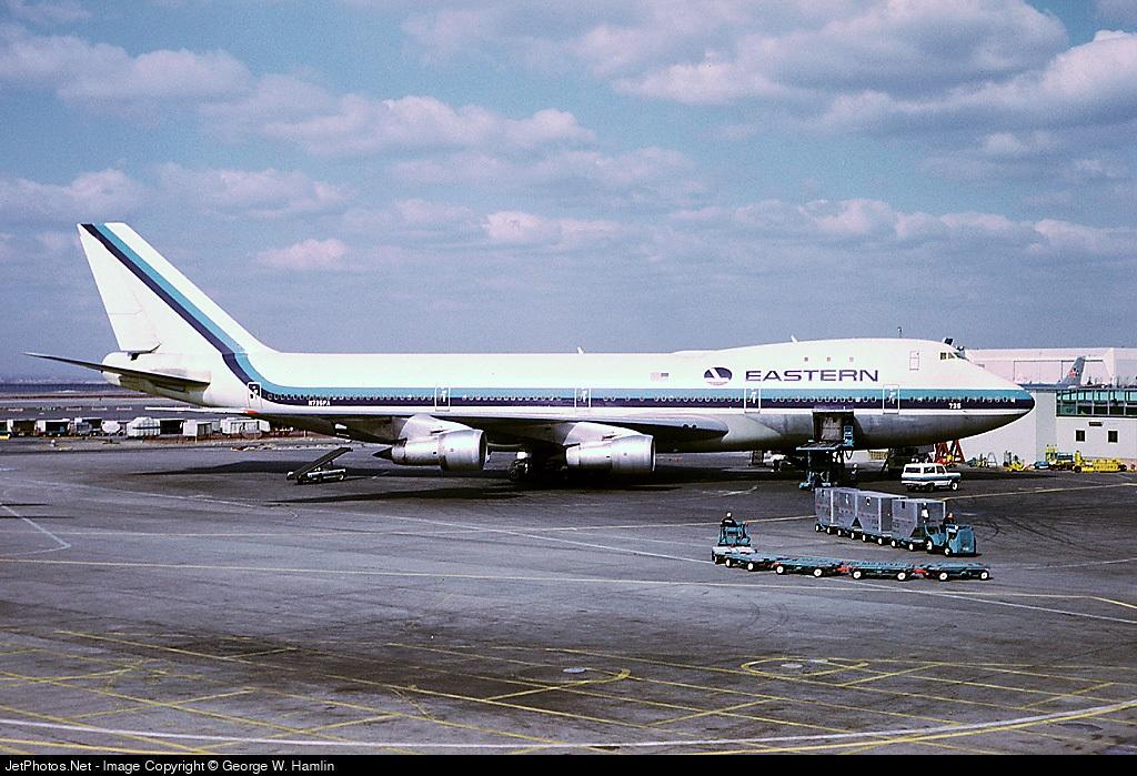 N735PA | Boeing 747-121 | Eastern Air Lines | George W ...