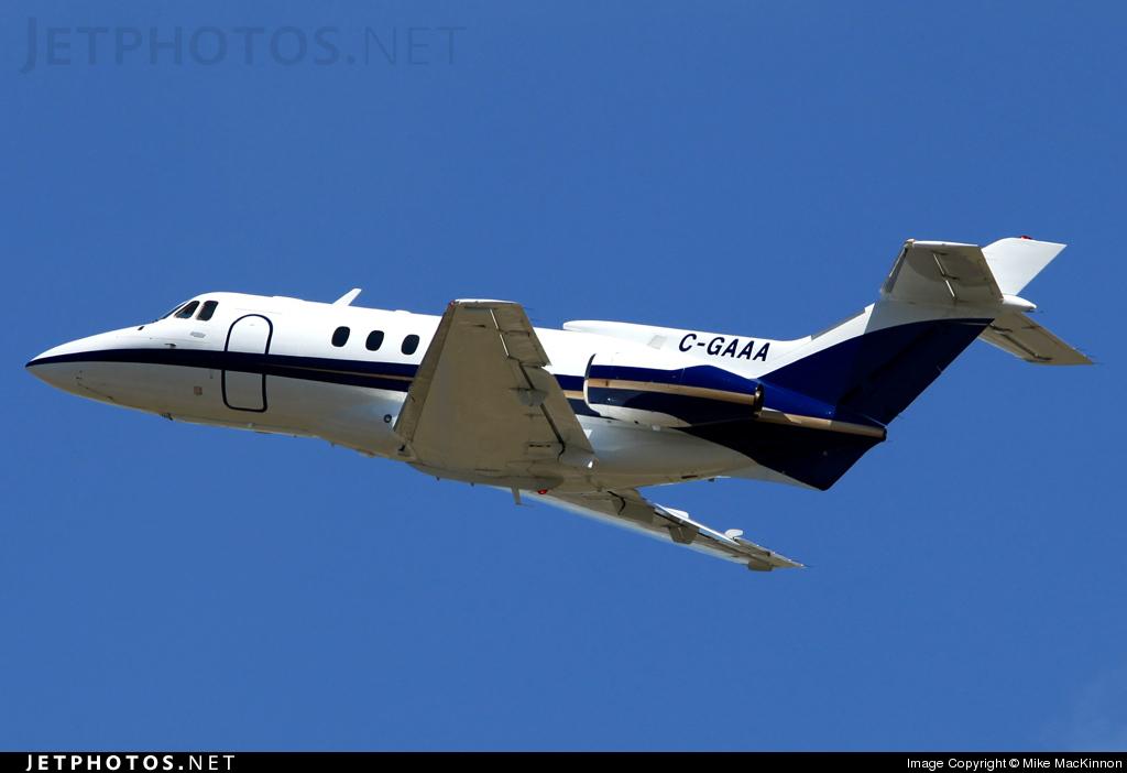 C-GAAA - Hawker Siddeley HS-125-700A - Private