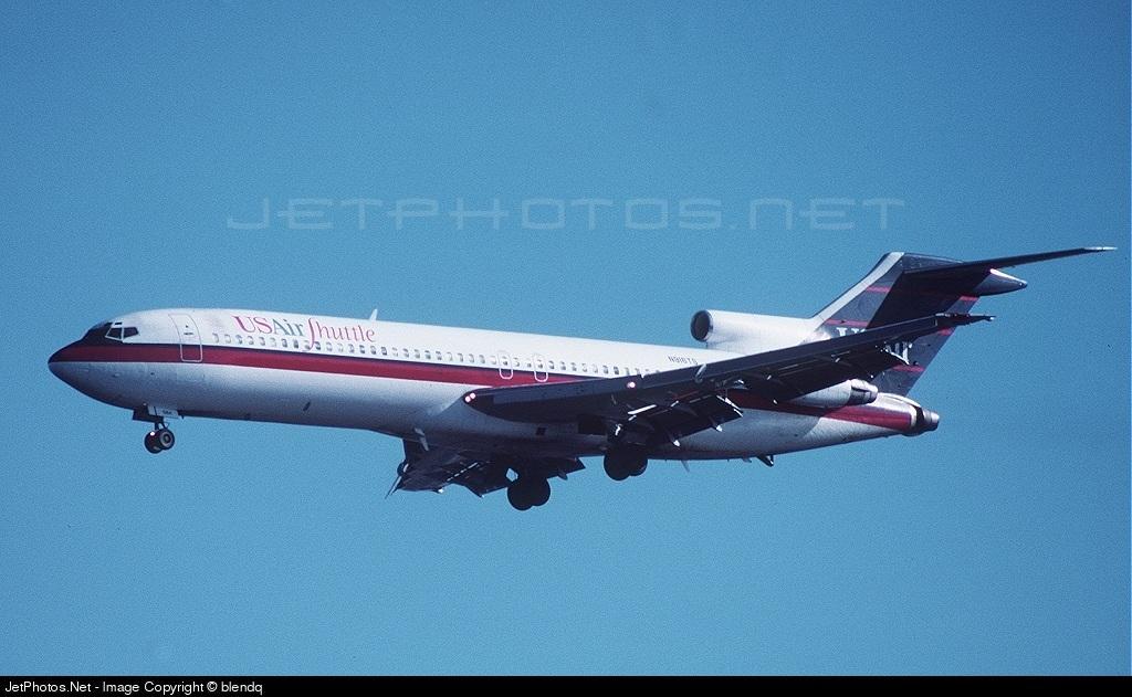 N916TS - Boeing 727-254 - USAir Shuttle