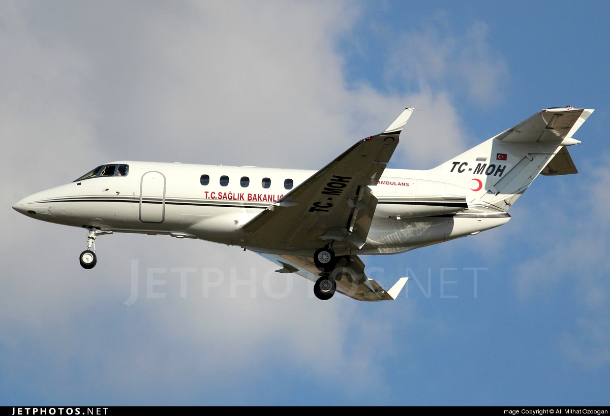 TC-MOH - Hawker Beechcraft 900XP - Turkey - Ministry of Health