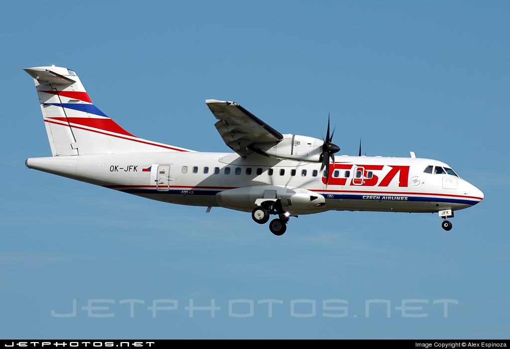 OK-JFK - ATR 42-500 - CSA Czech Airlines