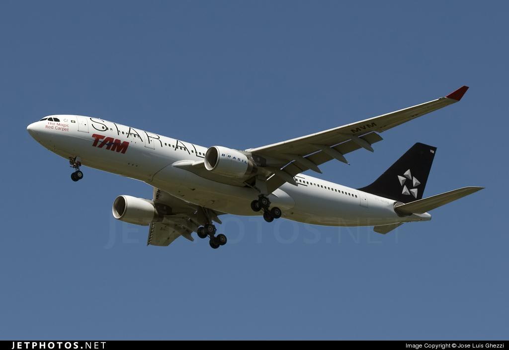 PT-MVM - Airbus A330-223 - TAM Linhas Aéreas