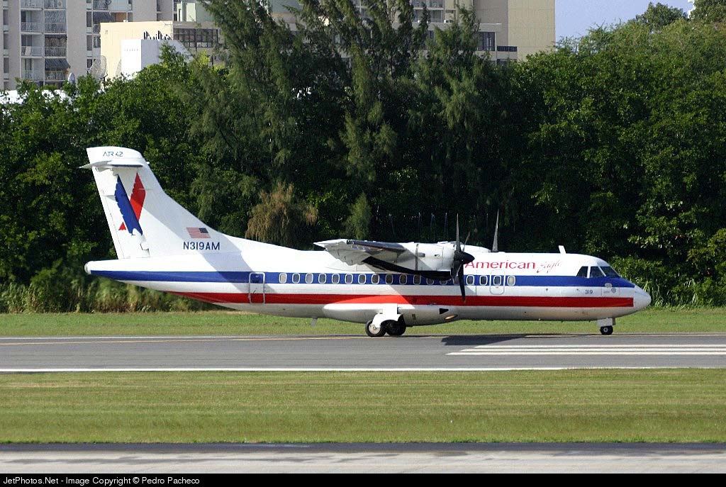 N319AM - ATR 42-300 - American Eagle (Executive Airlines)