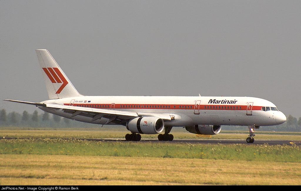 PH-AHF - Boeing 757-27B - Martinair