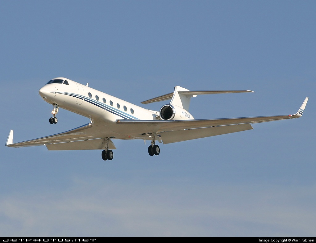 N159JA | Gulfstream G550 | Private | Warn Kitchen | JetPhotos