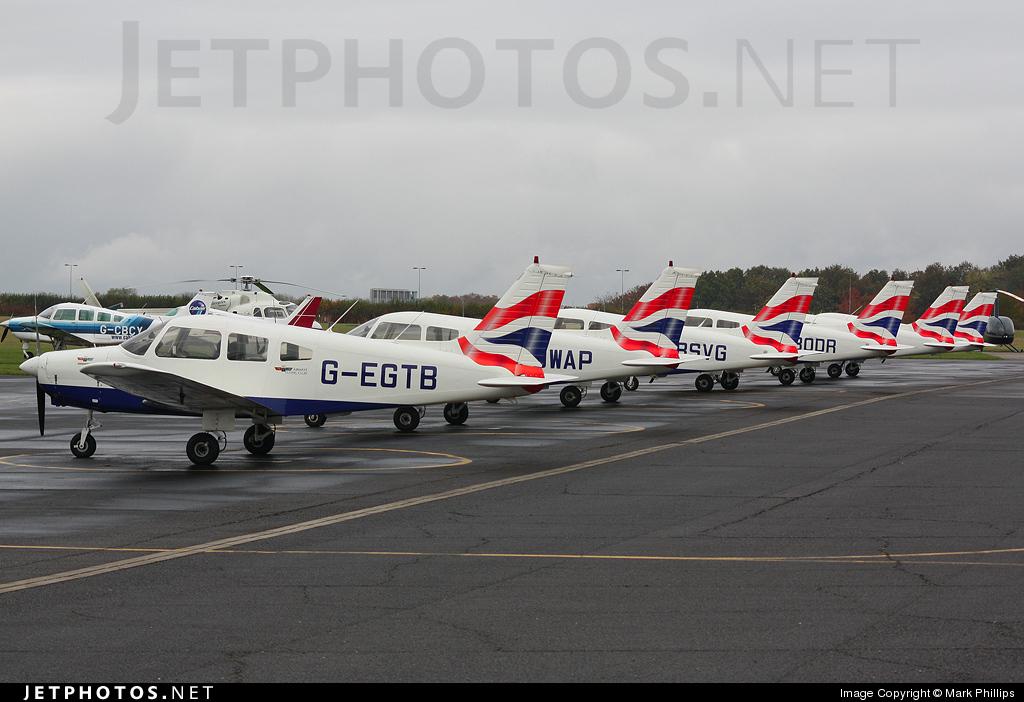 G-EGTB - Piper PA-28-161 Warrior II - British Airways Flying Club