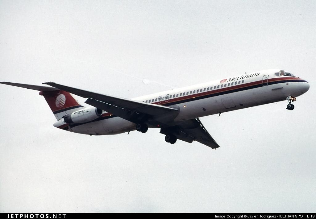 I-SMEE - McDonnell Douglas DC-9-51 - Meridiana