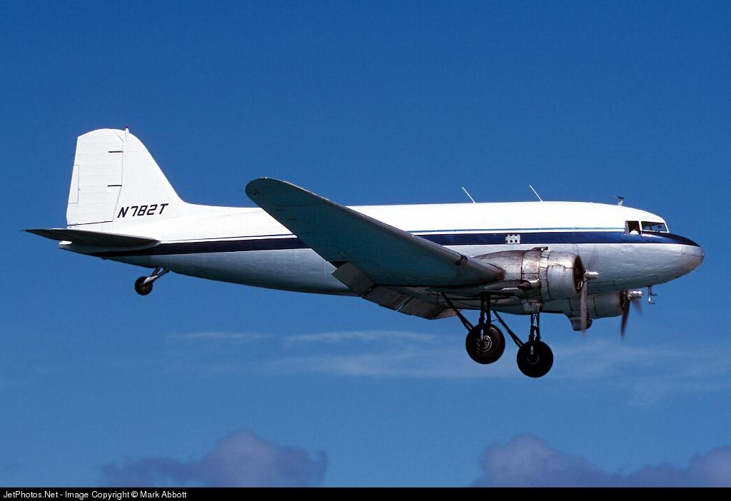 N782T - Douglas DC-3C - Tol-Air