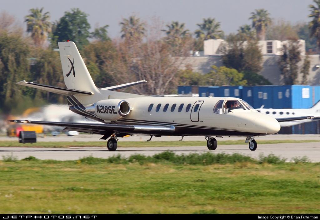 N218SE - Cessna 560 Citation V - Private