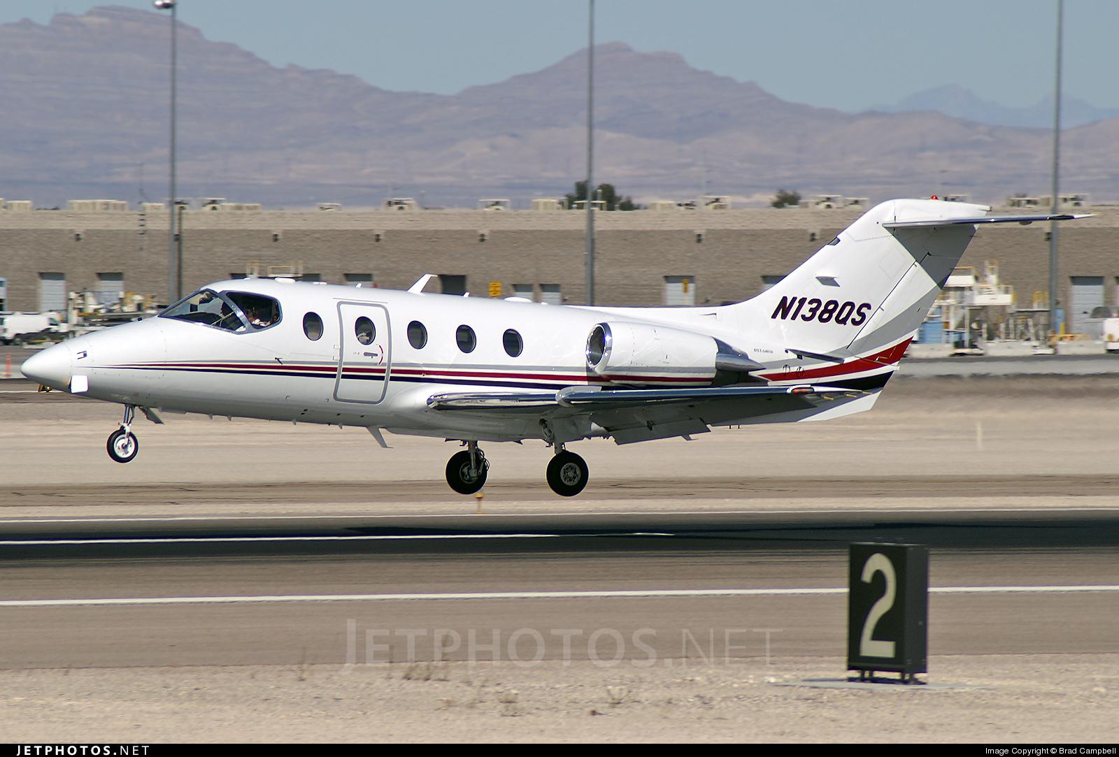 N138QS - Beechcraft 400A Beechjet - NetJets Aviation