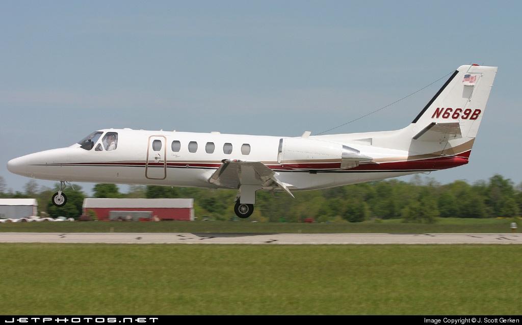 N669B - Cessna 550 Citation II - Private