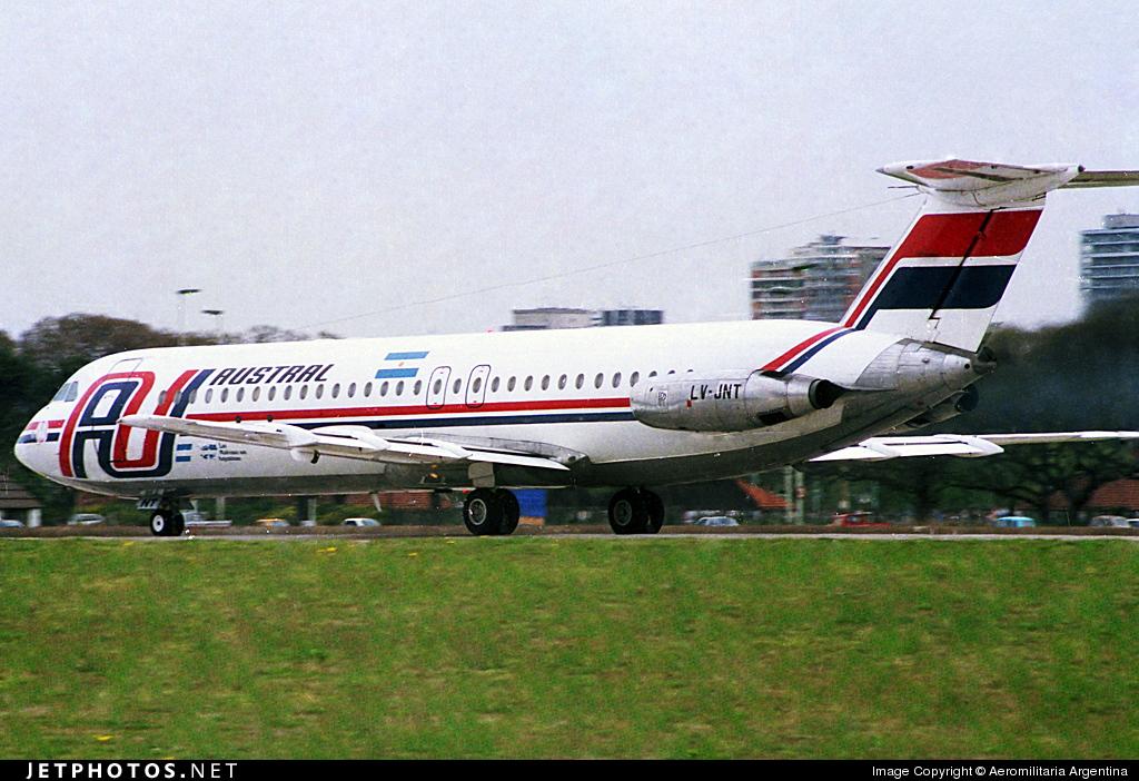 LV-JNS - British Aircraft Corporation BAC 1-11 Series 521FH - Austral L�neas A�reas