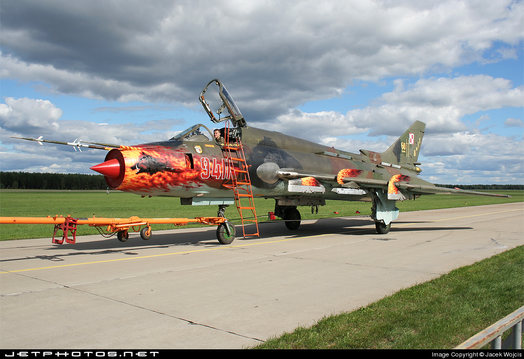 9411 - Sukhoi Su-22M4 Fitter K - Poland - Air Force