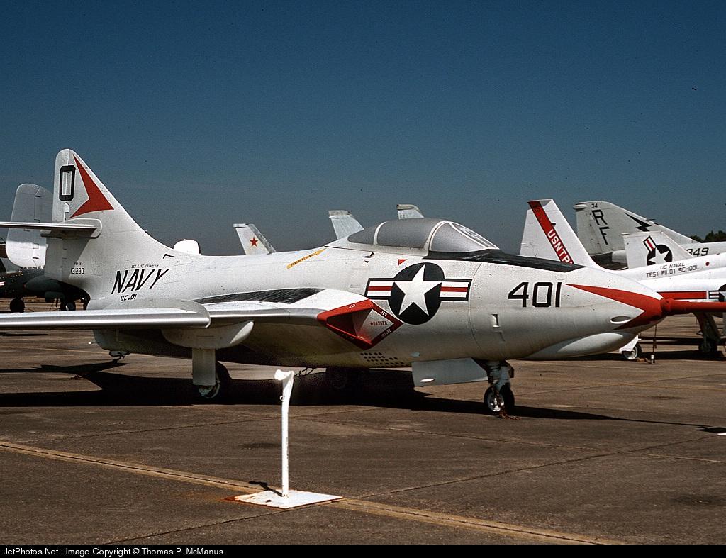 131230 131230   grumman f-9f-8 cougar   united states - us navy
