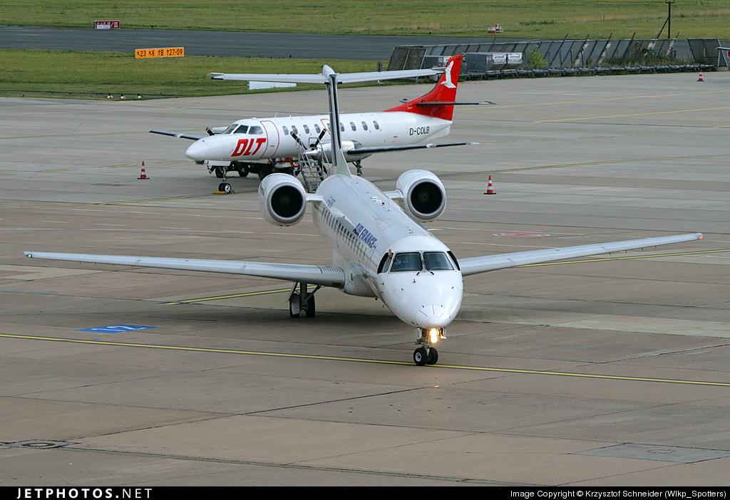 F-GUBG - Embraer ERJ-145MP - Air France (Régional Compagnie Aerienne)