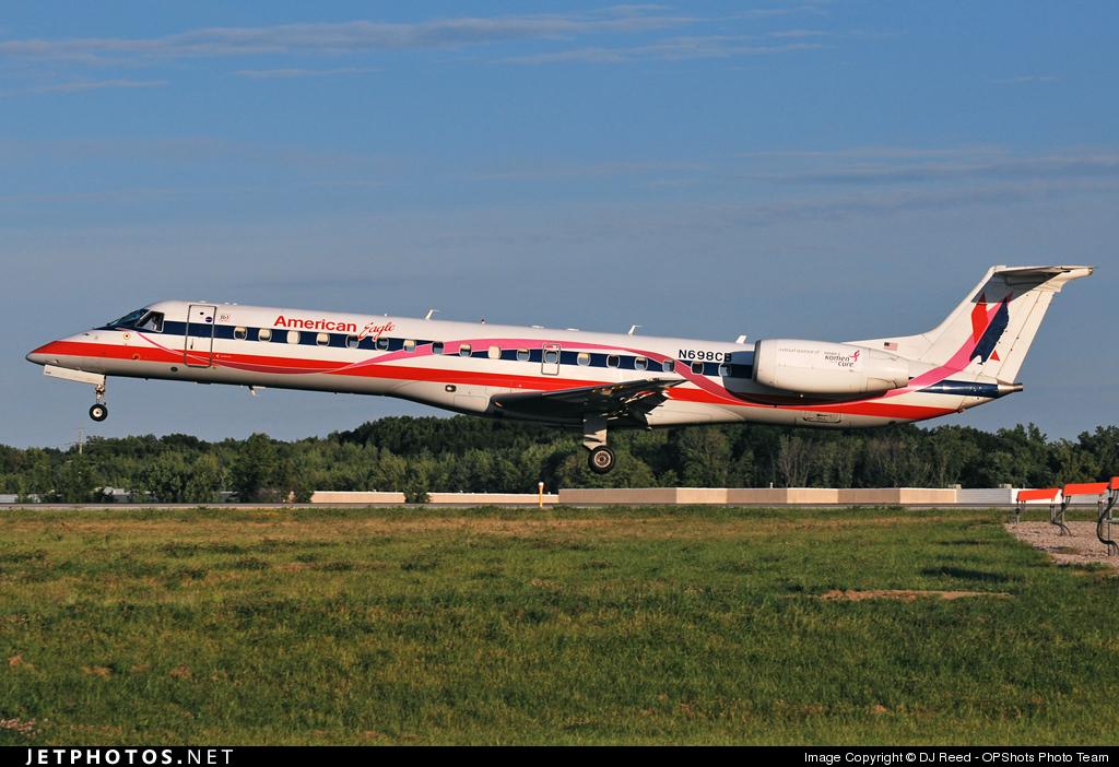 N698CB - Embraer ERJ-145LR - American Eagle