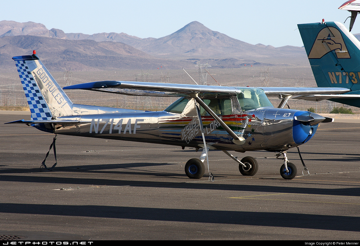 N714AF - Cessna 150M - Private