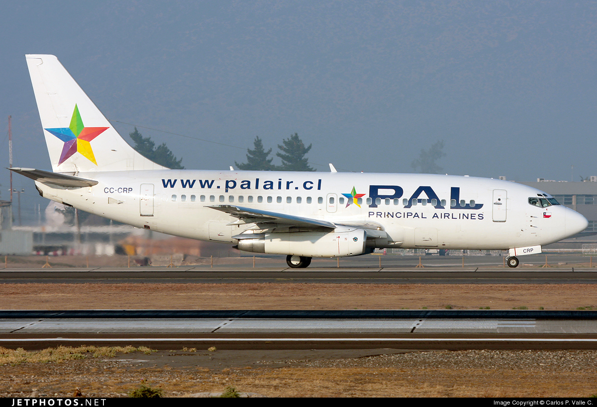 CC-CRP - Boeing 737-230(Adv) - Principal Airlines (PAL)