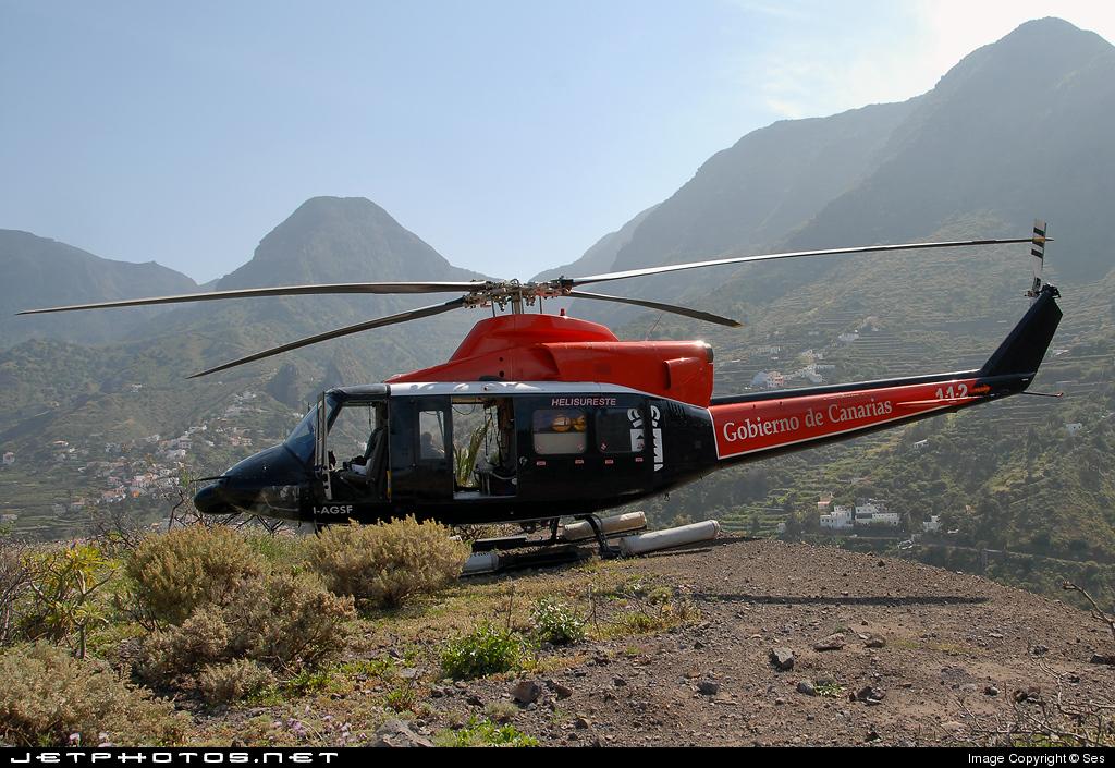 I-AGSF - Agusta-Bell AB-412 Griffon - Helisureste