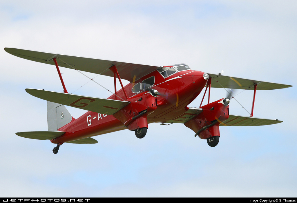 G-AEDU - De Havilland DH-90 Dragonfly - Private