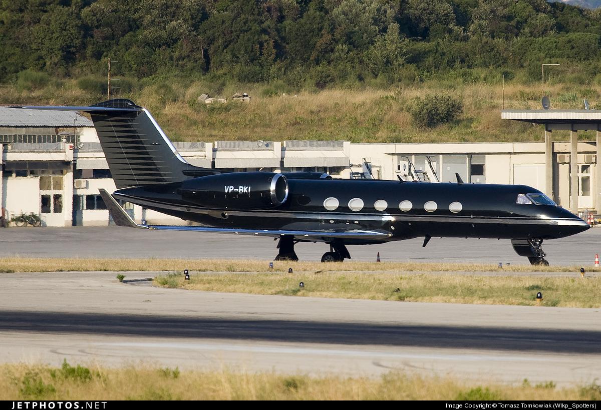 VP-BKI - Gulfstream G-IV(SP) - Gama Aviation