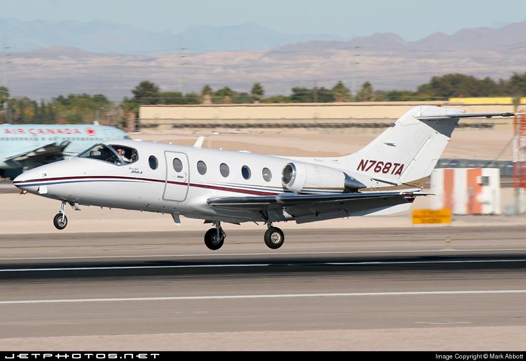N768TA - Beechcraft 400A Beechjet - Flight Options
