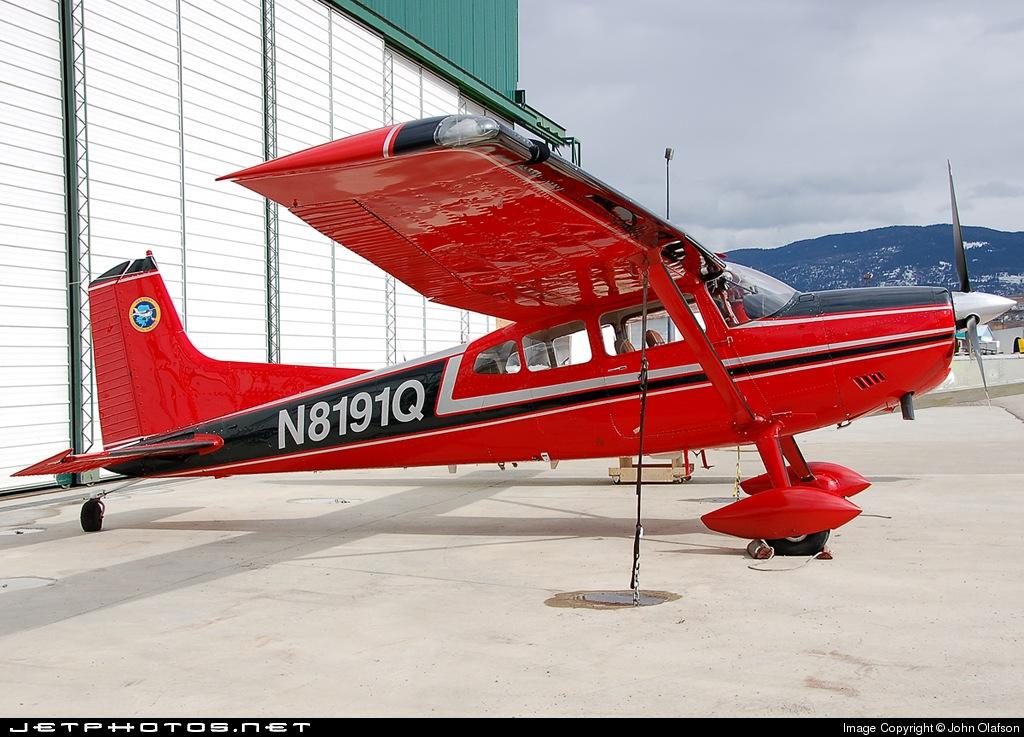 N8191Q - Cessna A185F Skywagon - Private
