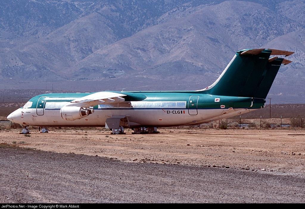 EI-CLG - British Aerospace BAe 146-300 - Aer Lingus