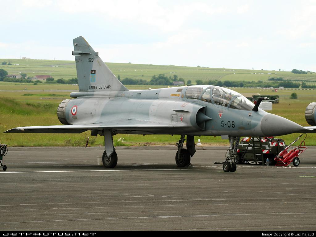 520 - Dassault Mirage 2000B - France - Air Force