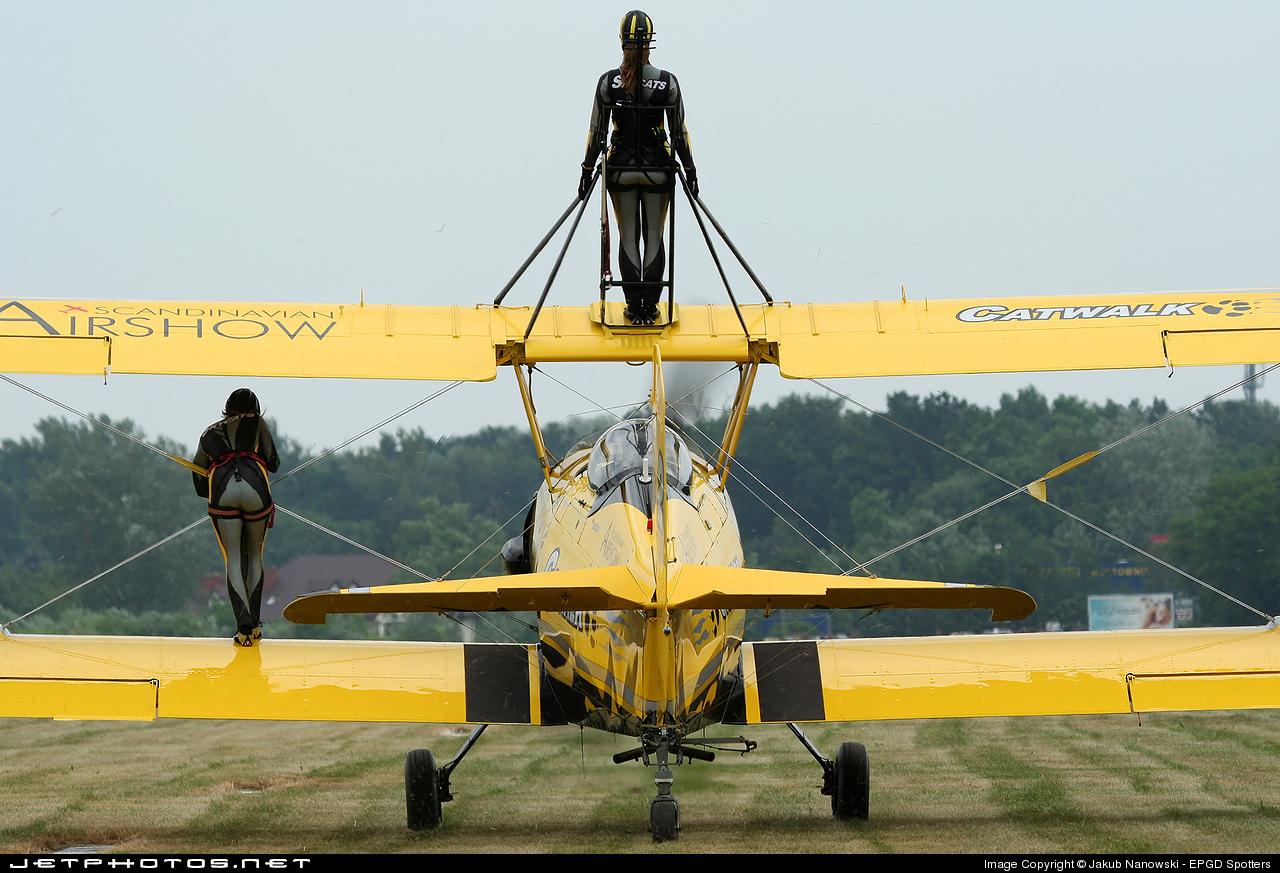 SE-KXR - Grumman G-164 Ag-Cat - Private