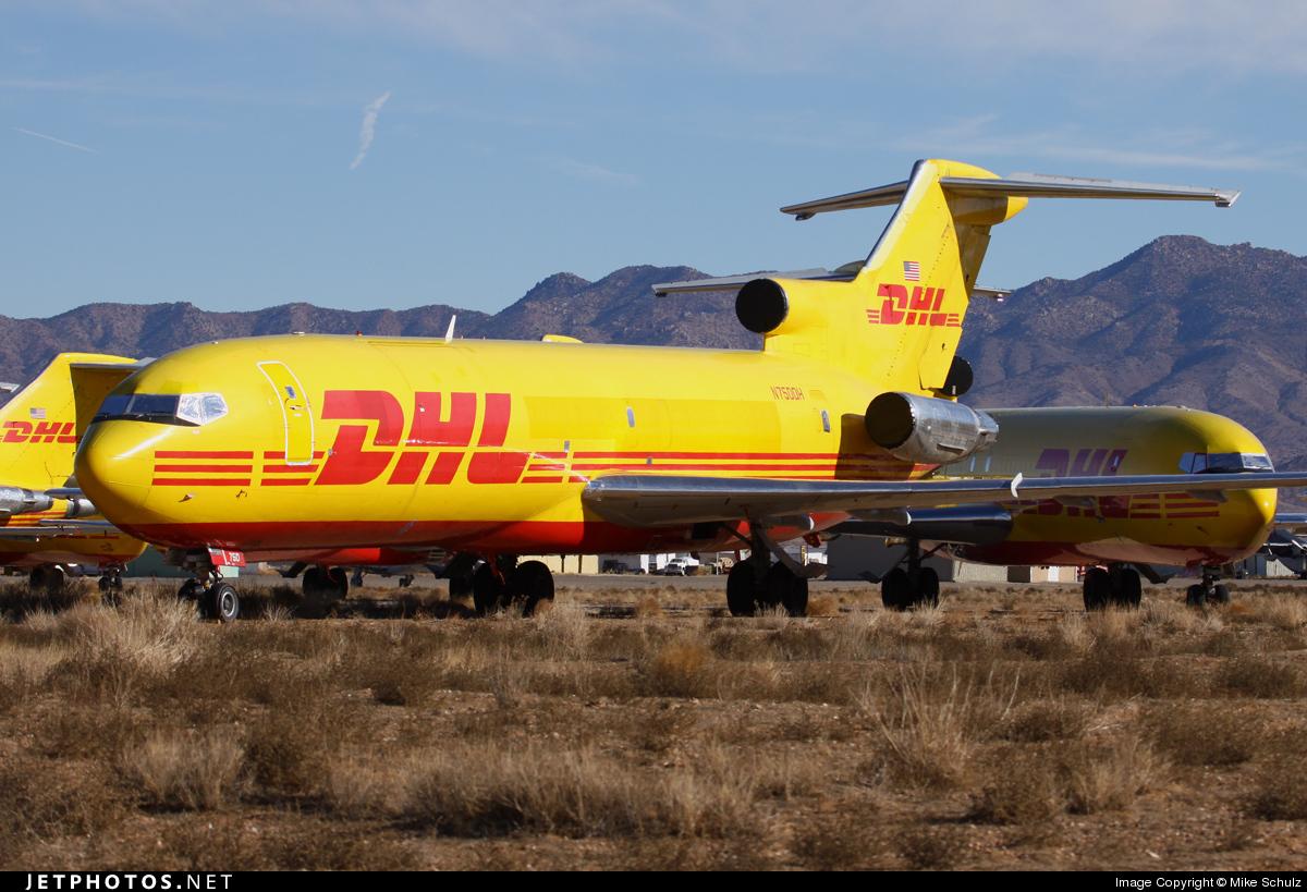 N750DH - Boeing 727-2M7(Adv)(F) - DHL (ASTAR Air Cargo)