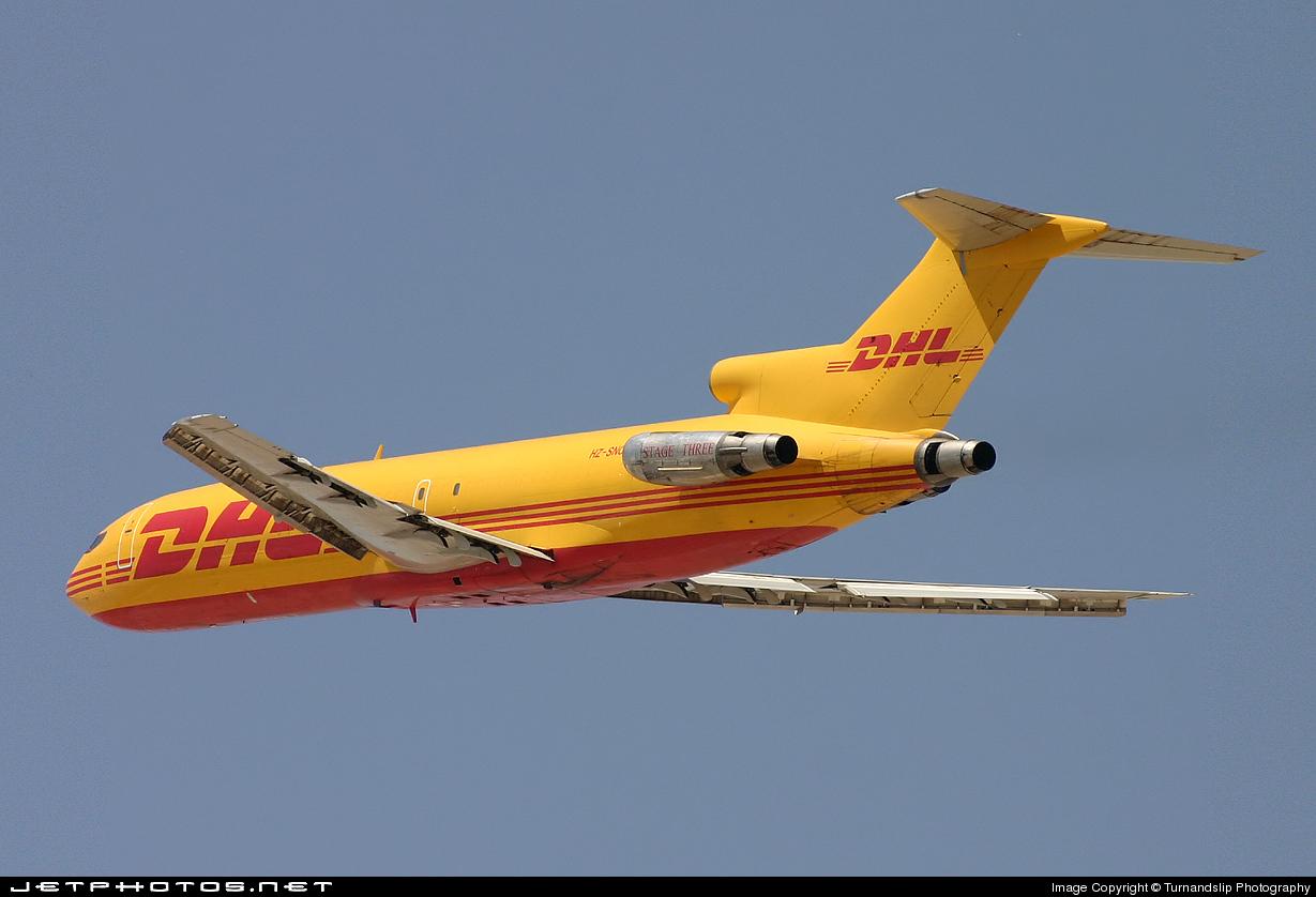 HZ-SNC - Boeing 727-230(Adv)(F) - DHL (SNAS Aviation)
