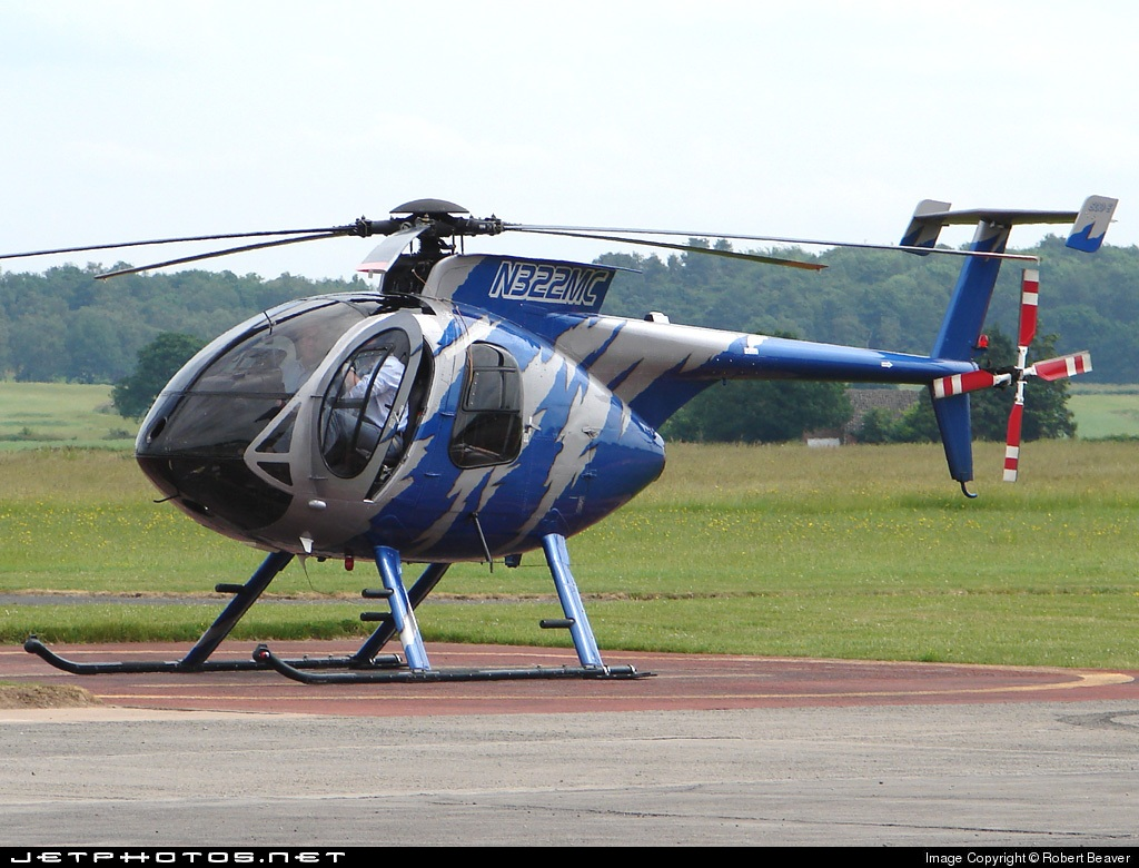N322MC - Hughes 369E - Private
