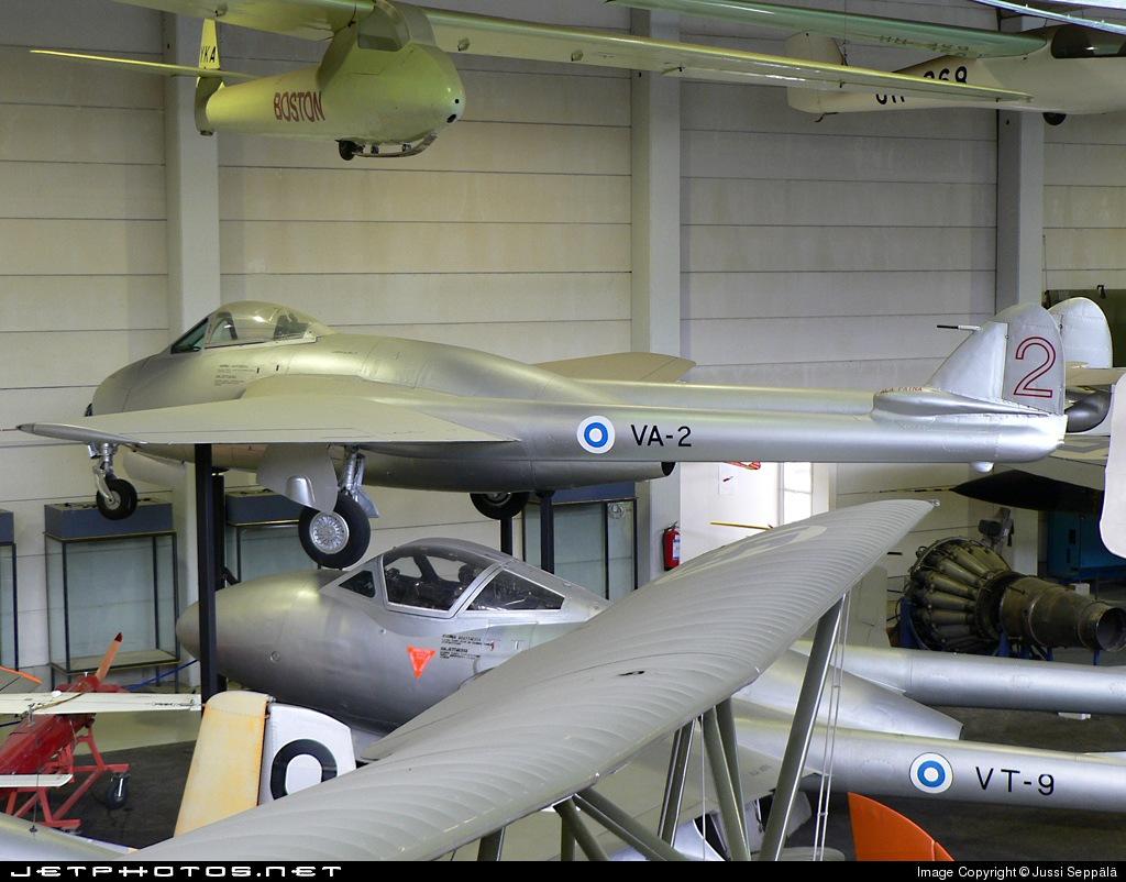 VA-2 - De Havilland Vampire FB.52 - Finland - Air Force
