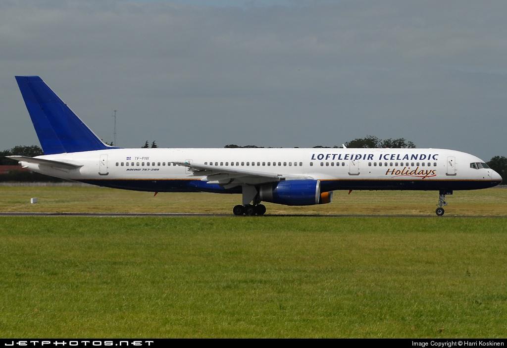 TF-FIW - Boeing 757-27B - Loftleiðir Icelandic