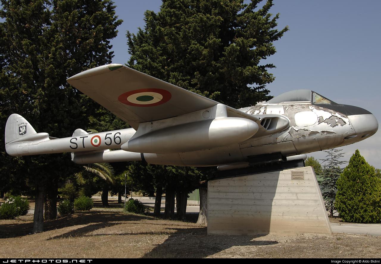 MM6156 - De Havilland Vampire FB.52 - Italy - Air Force