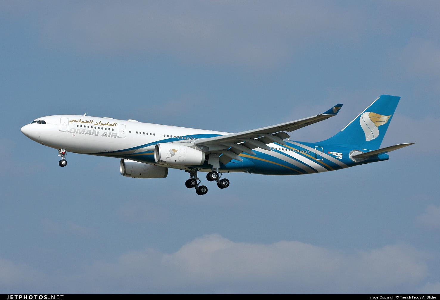 F-WWYM - Airbus A330-243 - Oman Air
