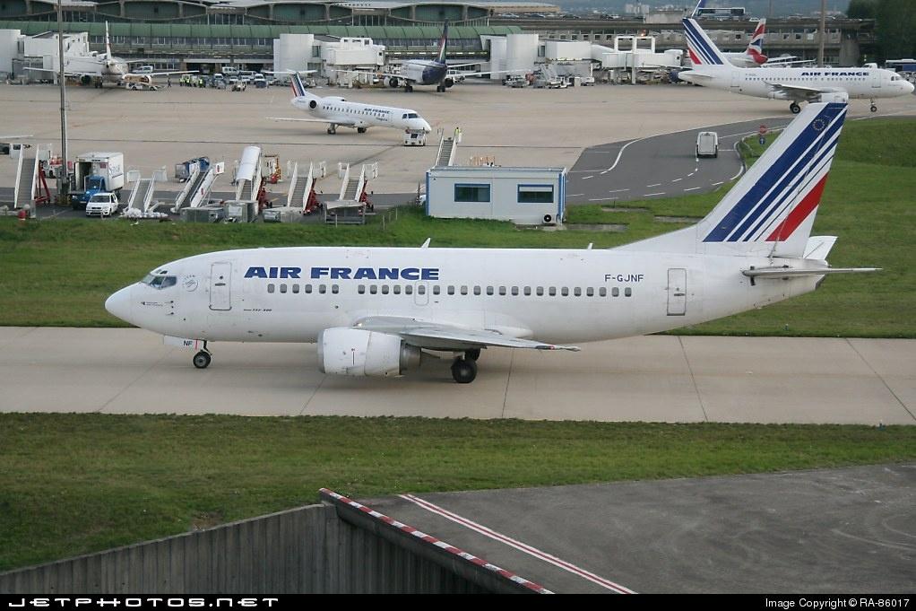 F-GJNF - Boeing 737-528 - Air France