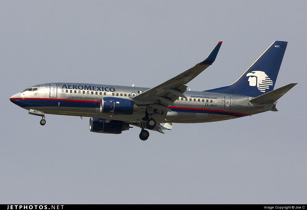 XA-MAY - Boeing 737-752 - Aeroméxico