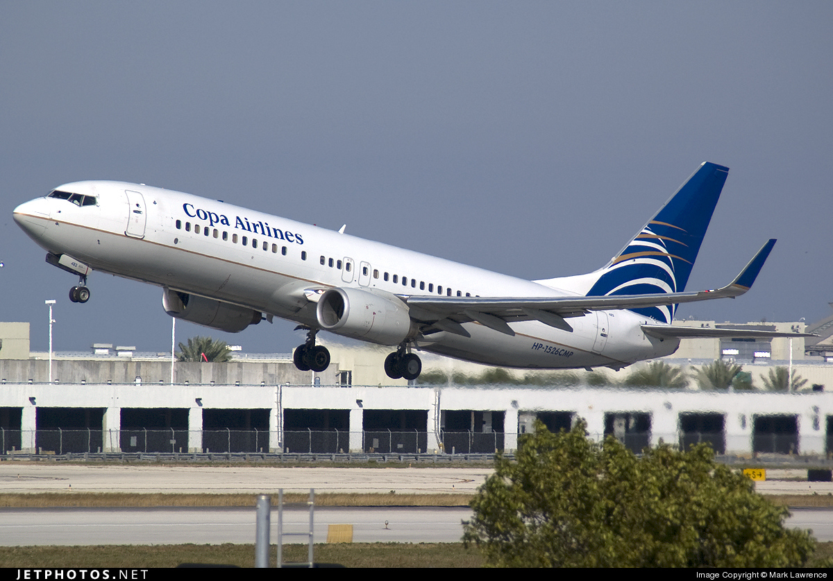 HP-1526CMP - Boeing 737-8V3 - Copa Airlines