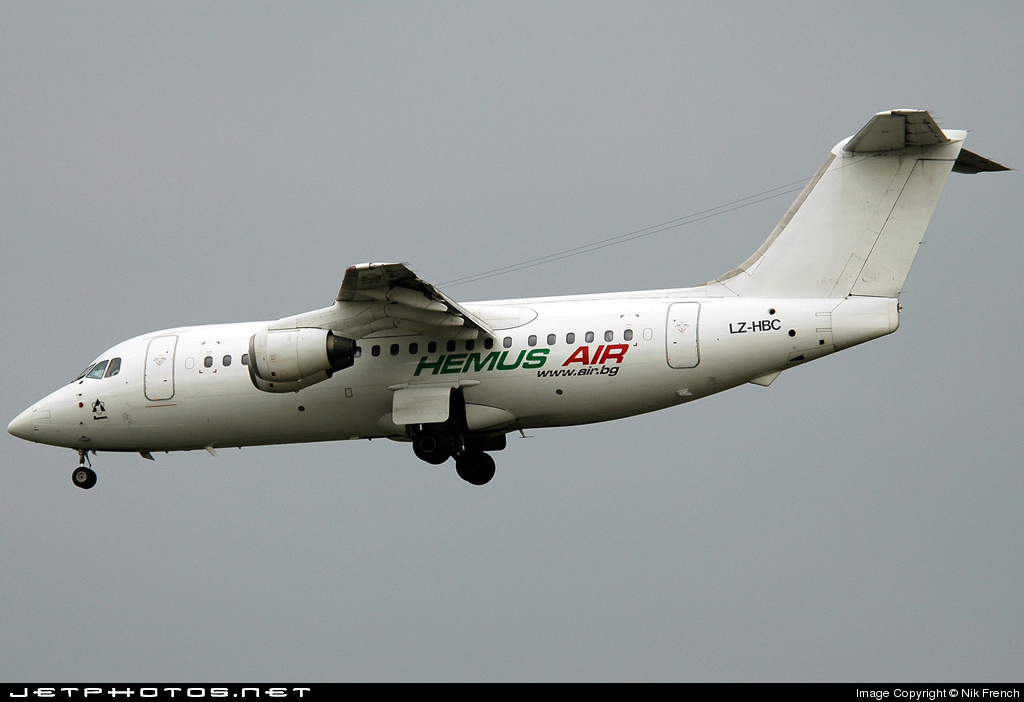 LZ-HBC | British Aerospace BAe 146-200 | Hemus Air | Nik