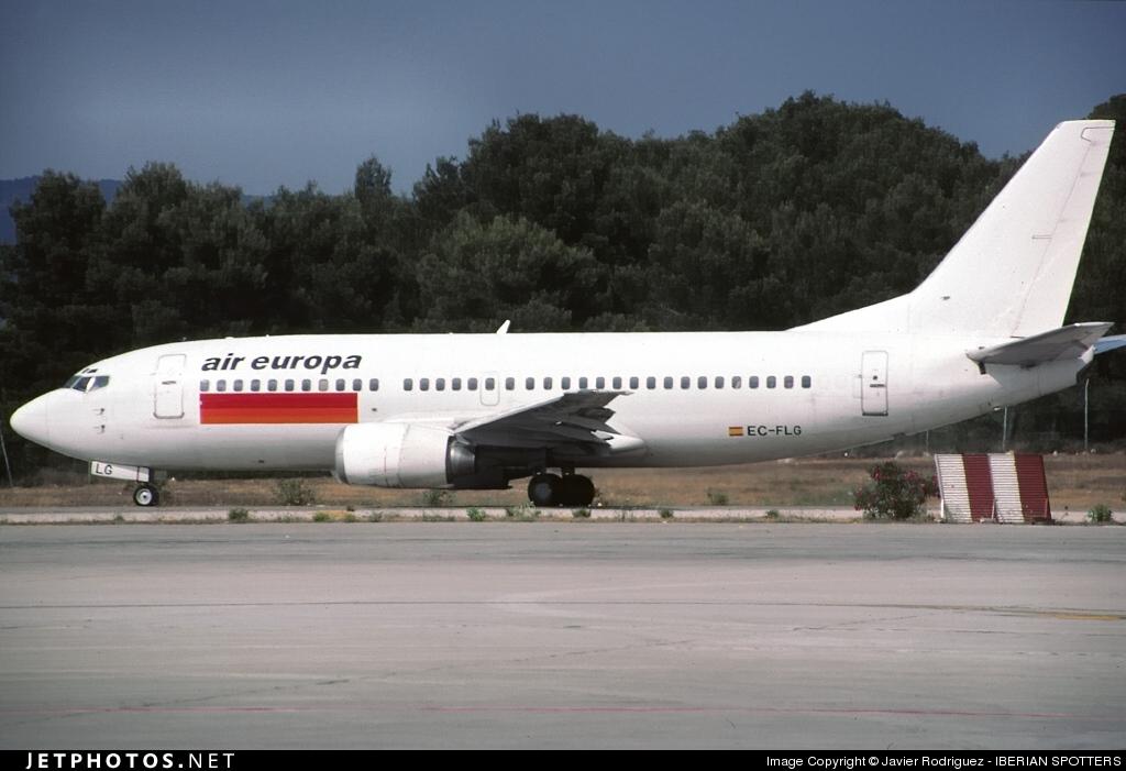 EC-FLG - Boeing 737-36E - Air Europa