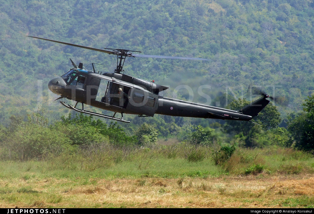 0254 | Bell UH-1H Iroquois | Thailand - Royal Thai Army